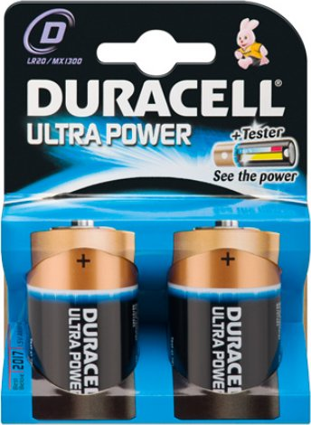 4 x mono d ultra m3 duracell batterien lr20 batterie. Black Bedroom Furniture Sets. Home Design Ideas